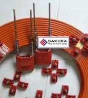 Kéo căng ray điện an toàn