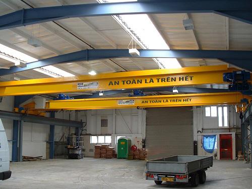 Tìm hiểu thiết bị điện được sử dụng trong cầu trục dầm đôi 25 tấn - Công ty  cầu trục